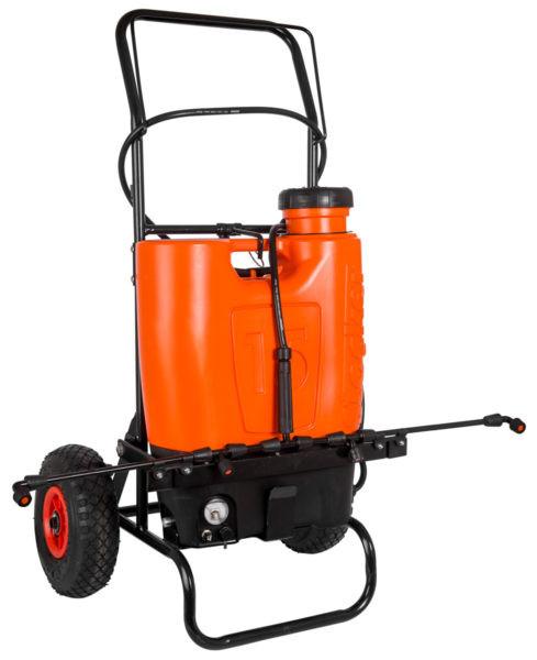 STOCKER - Rückenspritze 15 Liter - Li-Ion mit Trolley