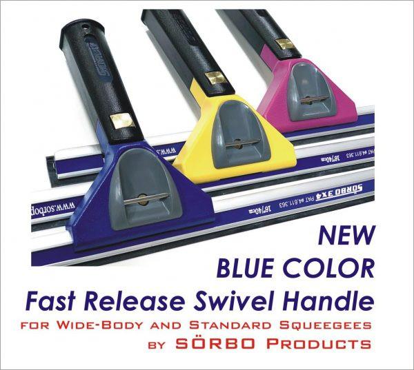 SÖRBO - Fast Release Swivel Griff - farbig / universal -