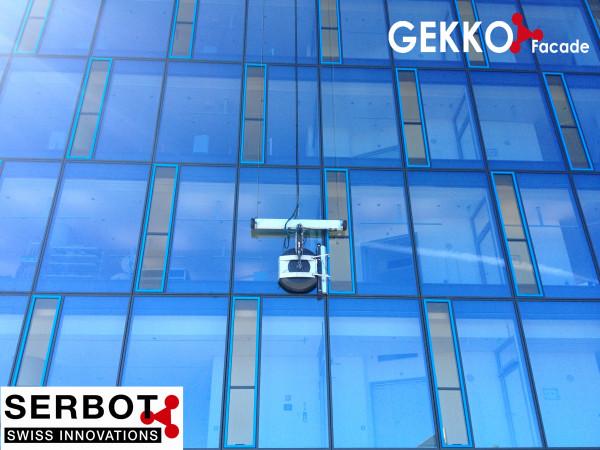 SERBOT - GEKKO Fassaden-Roboter