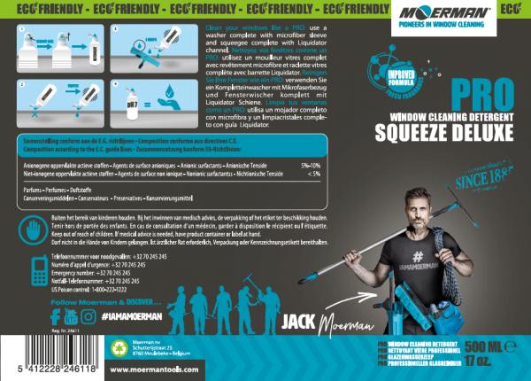 MOERMAN - Squeeze Deluxe 500ml - Moerman®