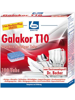 DR.BECHER - Galakor T10 Geschirrreiniger Tabs