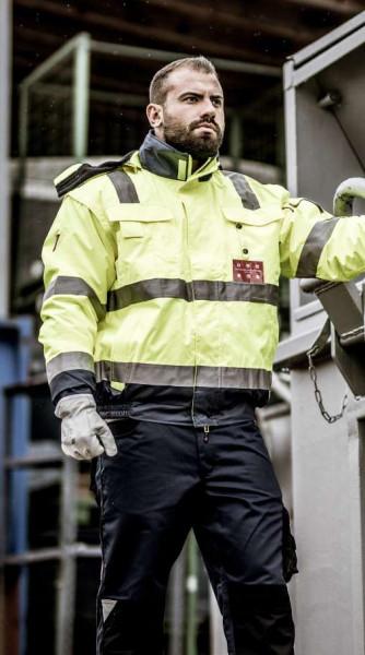 NITRAS - Warnschutz-Softschelljacke - MOTION TEX VIZ