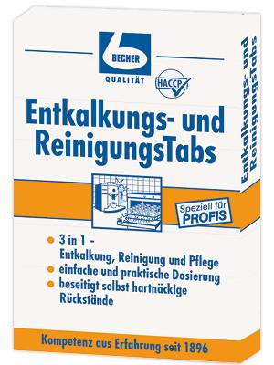 Dr.Becher - Entkalkungs-/Reinigungs Tabs